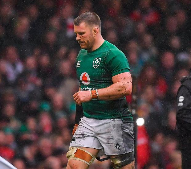 Sean O'Brien will miss the World Cup