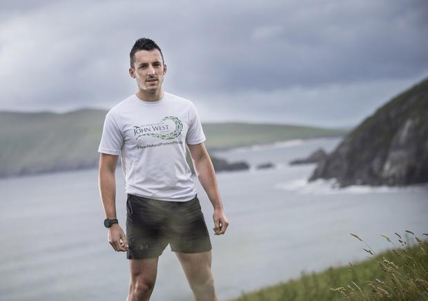 COAST-TO-COAST: Shane Finn will run and ride across the US. Picture: Cathal Noonan