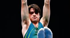 Gymnast John Keenan, who has collected seven medals, including two golds. Picture: Sportsfile