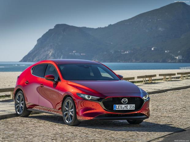 UNSEEN TECHNOLOGICAL DEVELOPMENTS: The new Mazda3 is stylishly pleasing to the eye