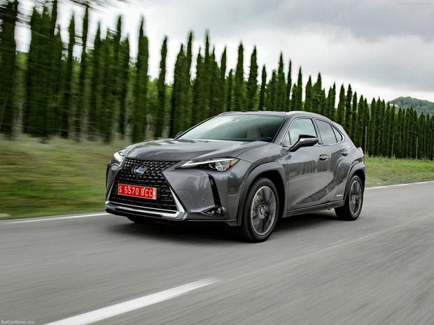 TRENDY: The new Lexus UX is geared towards young and old