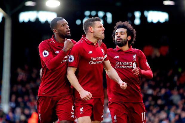 Liverpool rescue win over Fulham as Mohamed Salah stutters once again