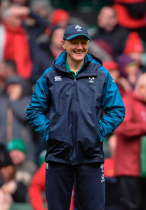 Schmidt is more than capable of adding more strings to his side's bow. Photo by Ramsey Cardy/Sportsfile