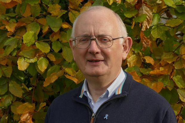 In good health: Tom Hope volunteers as a driver for the Irish Cancer Socie