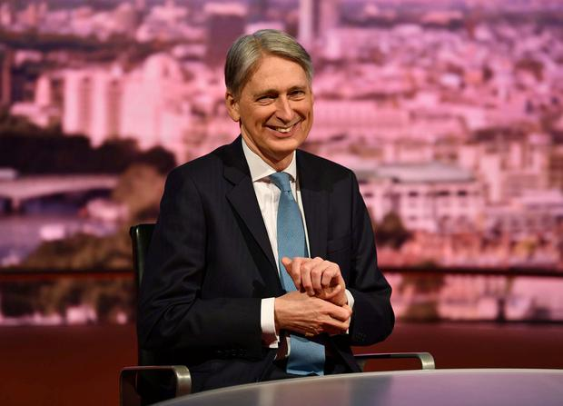 'Political assurances': UK Chancellor Philip Hammond. Photo: REUTERS