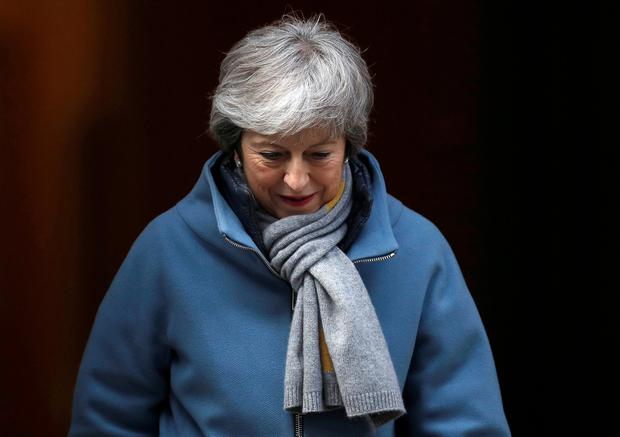 UK Prime Minister Theresa May. Photo: REUTERS
