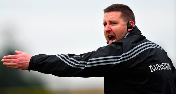Kildare manager Cian O'Neill. Photo by Piaras Ó Mídheach/Sportsfile