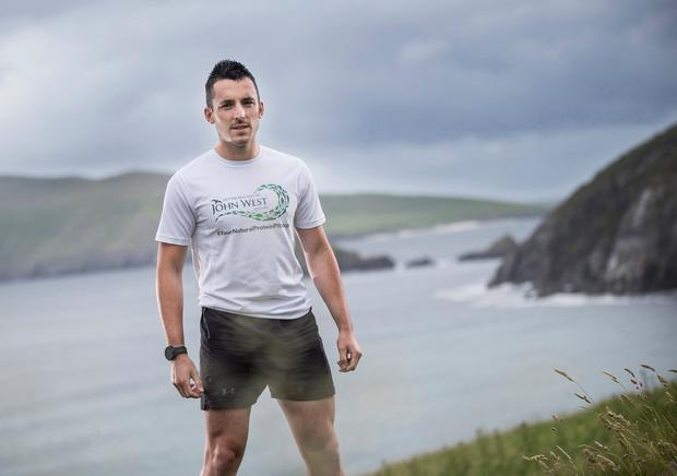 Dingle ultra runner Shane Finn who will be completing a coast-to-coast run and cycle across North America in 36 days, inspired by the bravery of his cousin.