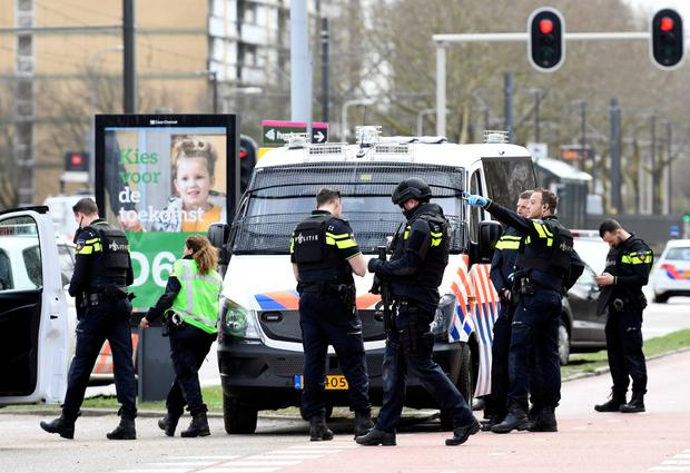 Many injured in Dutch town shooting, attacker flees