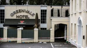 The Greenvale Hotel in Cookstown, Co. Tyrone, in Northern Ireland where three young people have died at a party that was being hosted at the hotel on St Patrick's Day Photo: Liam McBurney/PA Wire