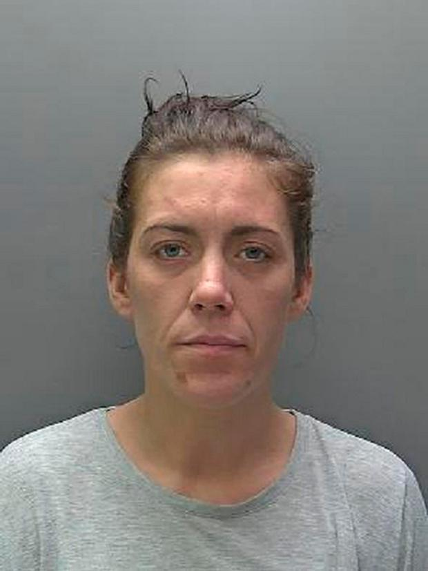 Lucy Turner who was sentenced to 38 months in prison and banned from driving for four-and-a-half years after she broke a Tesco worker's back when she drove into her in a bid to escape after trying to steal from the supermarket.