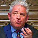 "Speaker John Bercow, ""speaking truth to power"". Picture: PA"