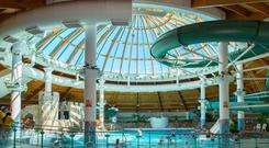 Fun and games: The Aqua Dome in Tralee pays 20pc of its income to cover soaring insurance costs, fuelled by 'compo culture'