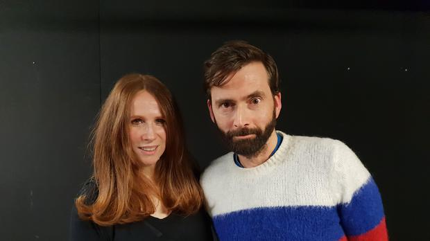 Catherine Tate and David Tennant (David Tennant Does A Podcast With)