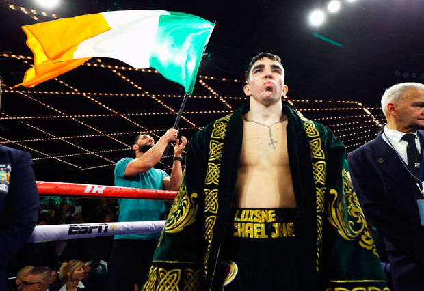 Michael Conlan ahead of his featherweight bout against Ruben Garcia Hernandez