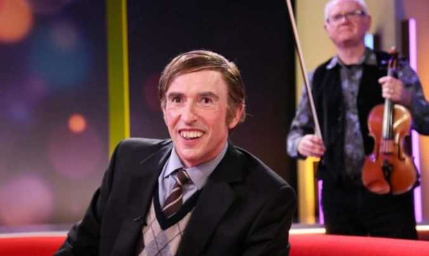 Steve Coogan's Irish farmer character on This Time with Alan Partridge, BBC 1, Mondays 9.30pm