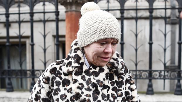 Tina Malone said she has learned her lesson (Kirsty O'Connor/PA)