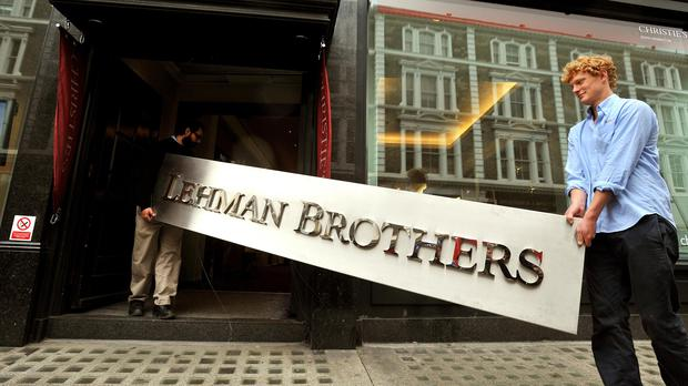 The OBR has compared the shock of a no-deal Brexit to the collapse of Lehman Brothers more than a decade ago (John Stillwell/PA)