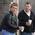 Martina Harty and Dermot Calvert pictured leaving the Four Courts after a High Court action.Pic: Collins Courts