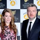 Annabel Jones and Charlie Brooker attending the Royal Television Society Programme Awards (Ian West/PA)