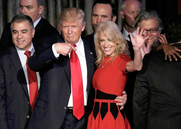 Kellyanne Conway's husband explains critical Trump tweets