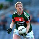 Mayo's Cora Staunton has confirmed her retirement from the county game. Photo: Brendan Moran/Sportsfile