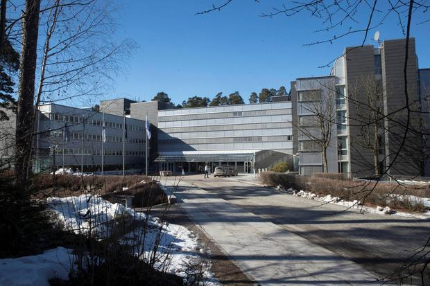 The headquarters of aluminum producer Norsk Hydro in Oslo, Norway