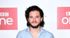 Kit Harington has revealed he started therapy as he adjusted to the worldwide fame brought by starring in Game Of Thrones (Ian West/PA Wire)