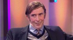 Steve Coogan as Martin Brennan on This Time with Alan Partridge, BBC1, Mondays, 9.30pm