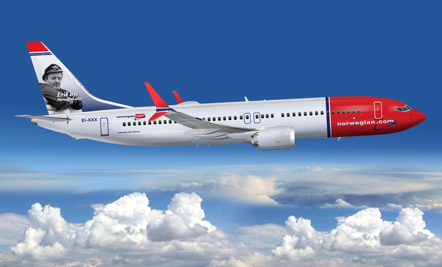 """Norwegian Air has been accused of being trapped in a """"'Mad Men' universe"""".Photo: PA"""