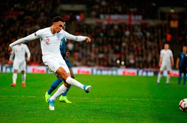 Back injury: Alexander-Arnold pulls out of England squad