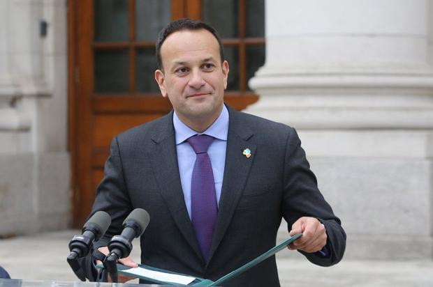 'Hypothetical': Leo Varadkar was tightlipped about the Brexit deal. Photo: Gareth Chaney, Collins Photos
