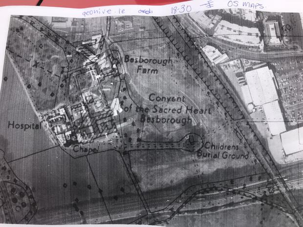 Old map discovered of Bessborough Mother and Baby Home