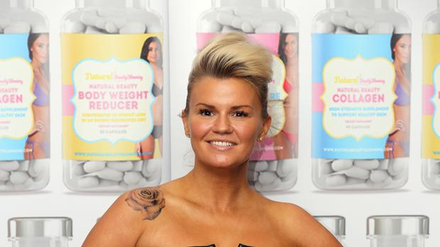 Kerry Katona appeared on Celebs Go Dating (Chris Radburn/PA)