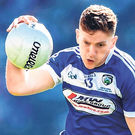 Kingpin: Laois supporters will be hoping that Evan O'Carroll maintains his good form as the team bid for promotion. Photo: Sportsfile