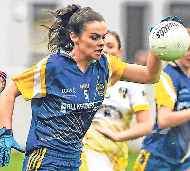 Sinéad Kenny in action