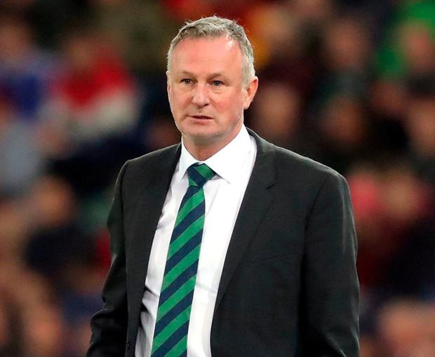 Northern Ireland Manager Michael O'Neill. Photo: Niall Carson/PA Wire