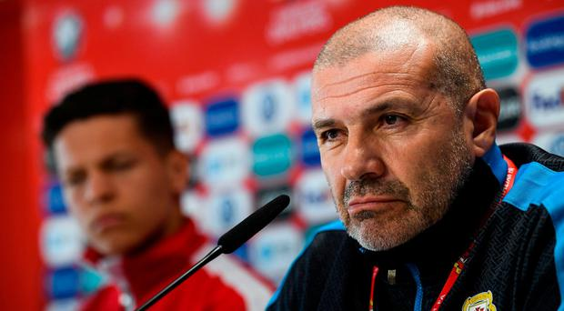 Gibraltar boss confident playing on the rock gives his side a better chance of upsetting Ireland