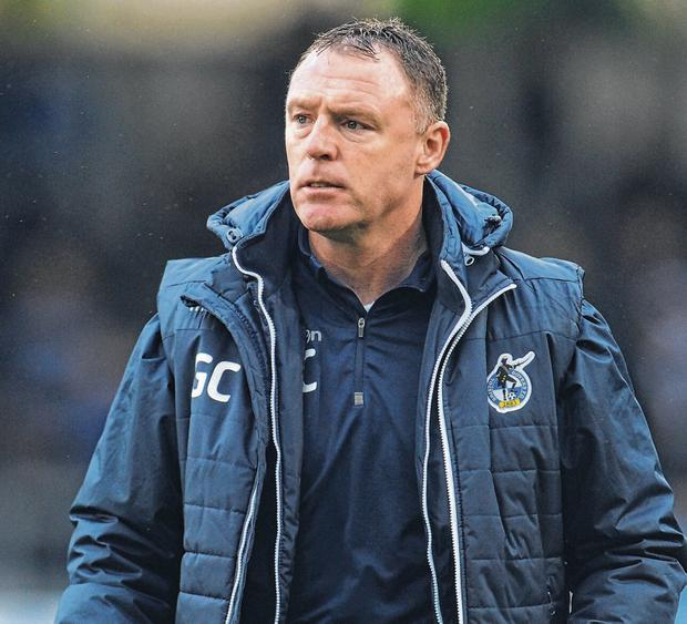 Bristol Rovers boss Graham Coughlan enjoys the status as the only Republic of Ireland-born manager in the English Football League. Photo: Kevin Barnes - CameraSport via Getty Images