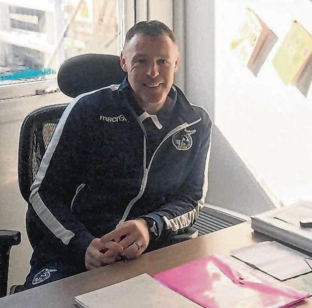 Graham Coughlan in his office