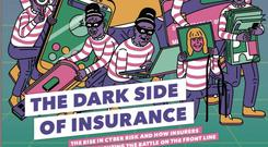 Controversial: the front cover of the Insurance Institute of Ireland magazine
