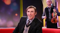 Cutting satire: Steve Coogan plays Alan Partridge's Irish lookalike Martin Brennan