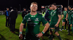 Kieran Marmion of Connacht after twin over Benetton