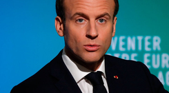 French President Emmanuel Macron. Photo: Getty Images