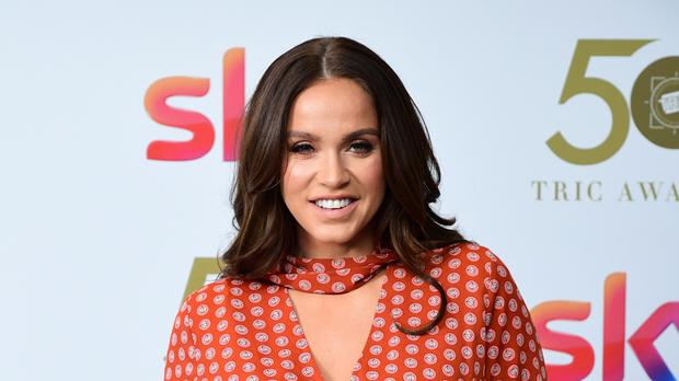 Vicky Pattison posted a 'moon face' selfie to apologise for her 'perfect' pictures (Ian West/PA)