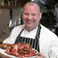 Meaty issue: chef Gareth (Gaz) Smith with his Galician beef, at Michaels restaurant in Dublin. Photo: Damien Eagers