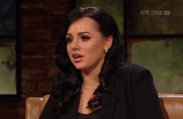 Jessica Bowes on the Late Late Show