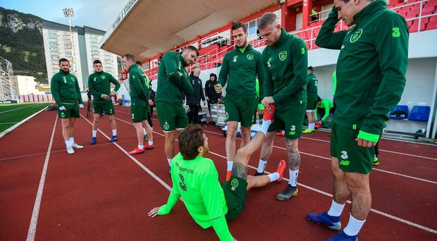 'It isn't very good at all' - Jon Walters makes a startling revelation about the Gibraltar pitch