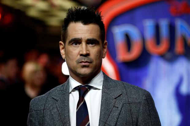 Actor Colin Farrell attends the European premiere of
