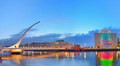 Santiago Calatrava, who designed the Samuel Beckett Bridge, says Dublin can benefit from having taller buildings that bring a sense of modernity